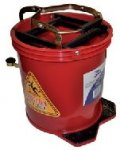 Mop Bucket | Metal Wringer Bucket
