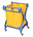 Scissor Cleaning Trolley-Laundry Cart-Waste Trolley-X Trolley