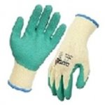 Cat Grip Material Handling Glove-Green Latex Palm