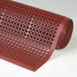 Bar Kitchen Safety Anti Fatigue Wet Area Terracotta Red Mat