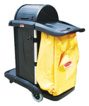 Lockable Cleaners Cart