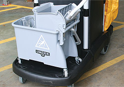 Clean-up Cart Mop Bucket Shelf