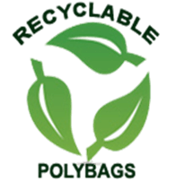 Logo, Recyclable Polybags